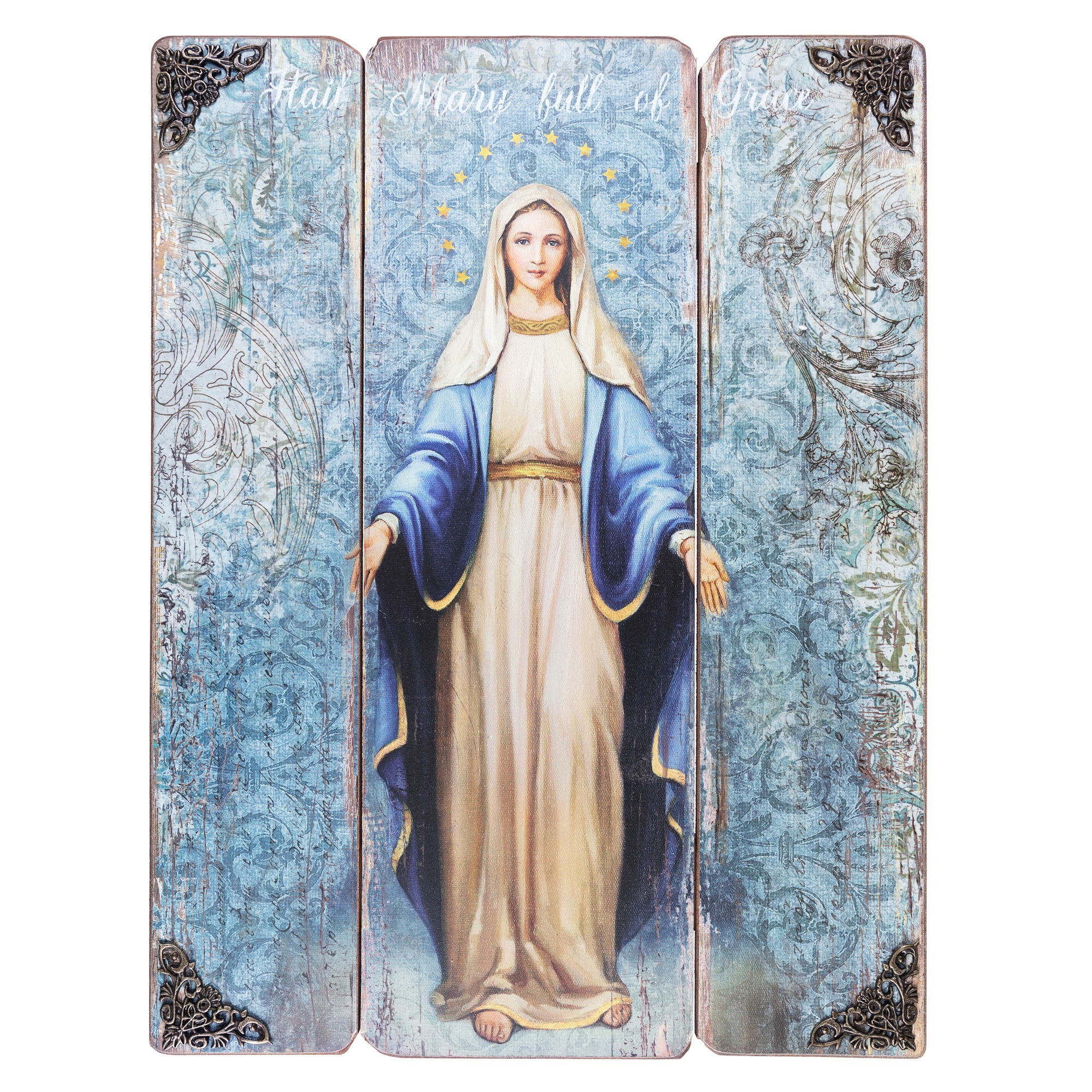 Our Lady of Grace Wall Painting