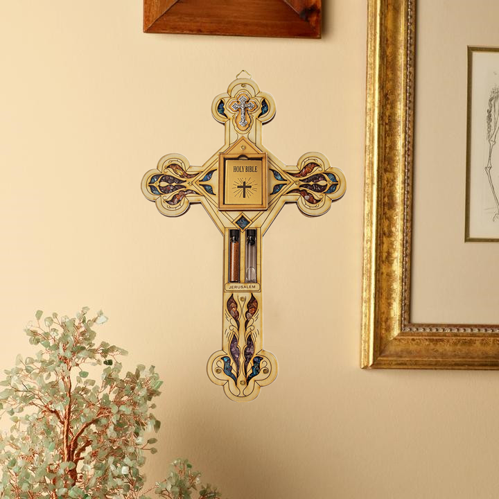 ULTIMATE BELIEVER - CROSS SYMBOL WALL BLESSING