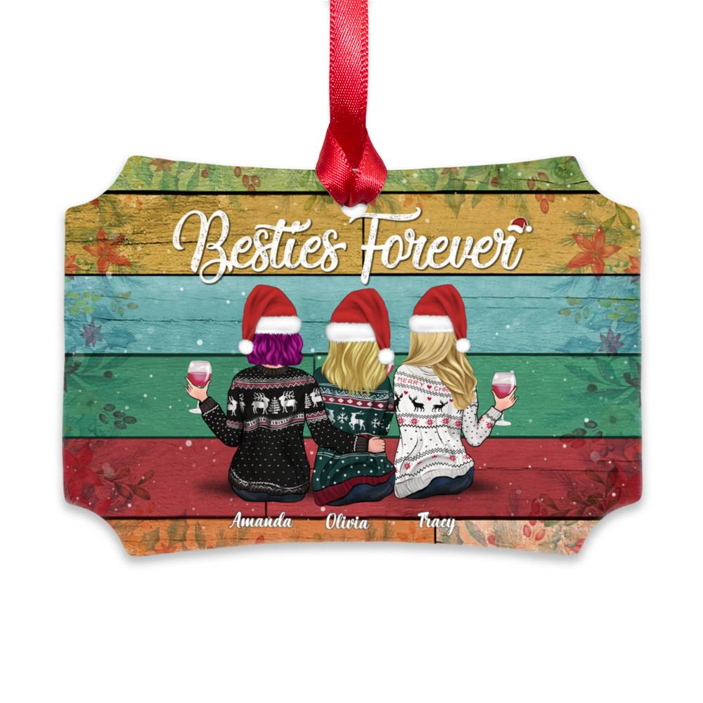 🌟Christmas Hot Sales🌟2020 Always Sisters Christmas Ornaments