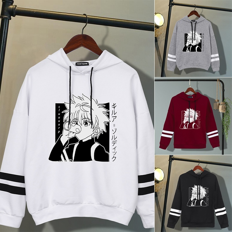 Hunter X Hunter Japanese Anime Printed Hoodies