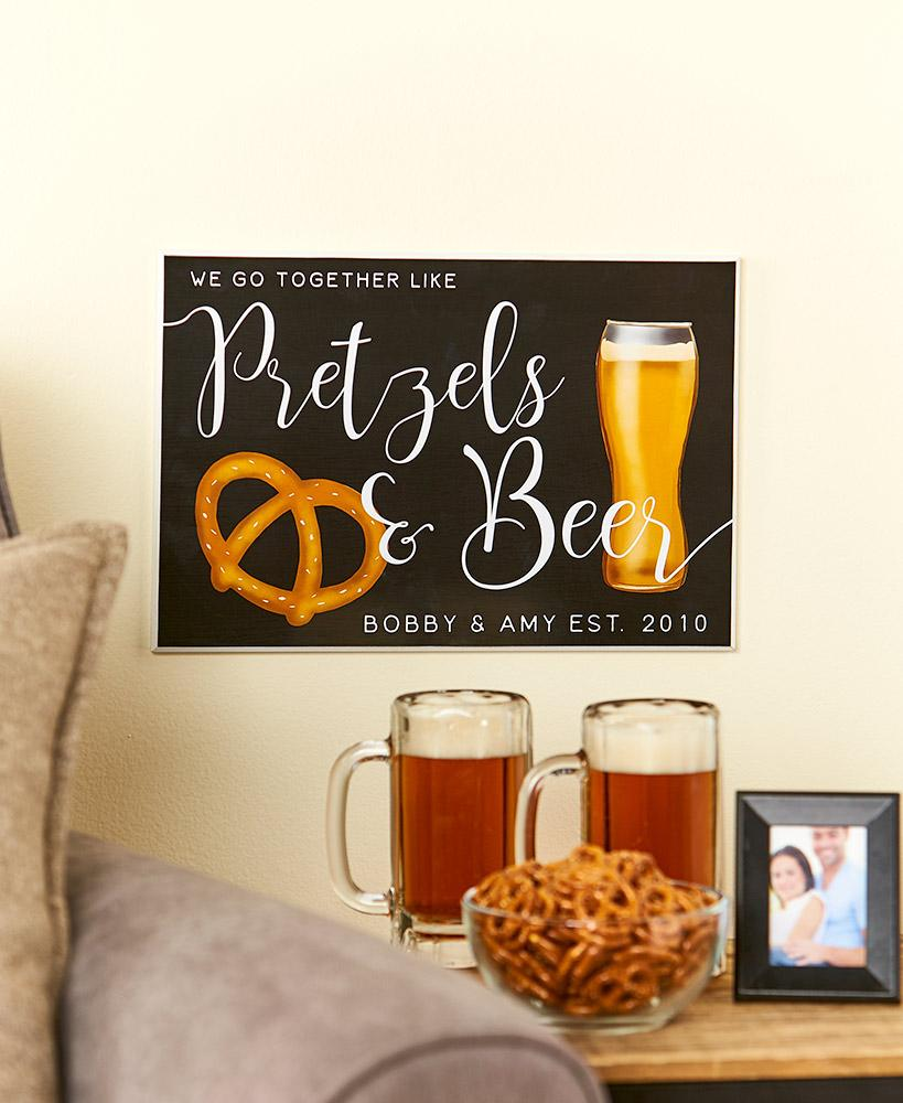 Personalized We Go Together Plaques