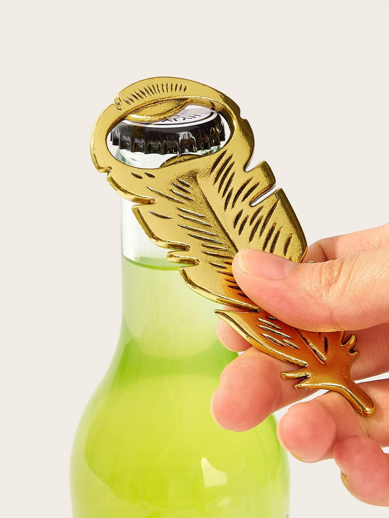 Feather Design Bottle opener 1pc