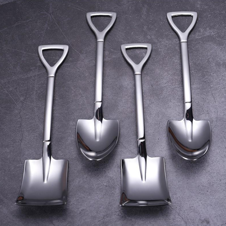 (New Year's Pre-Sale-Save 50% Off)  Stainless Steel Shovel Spoon (1 SET / 3 PCS)