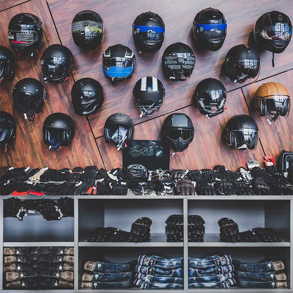 💥Perfect for the motorcycle lover💥HELMET WALL MOUNT