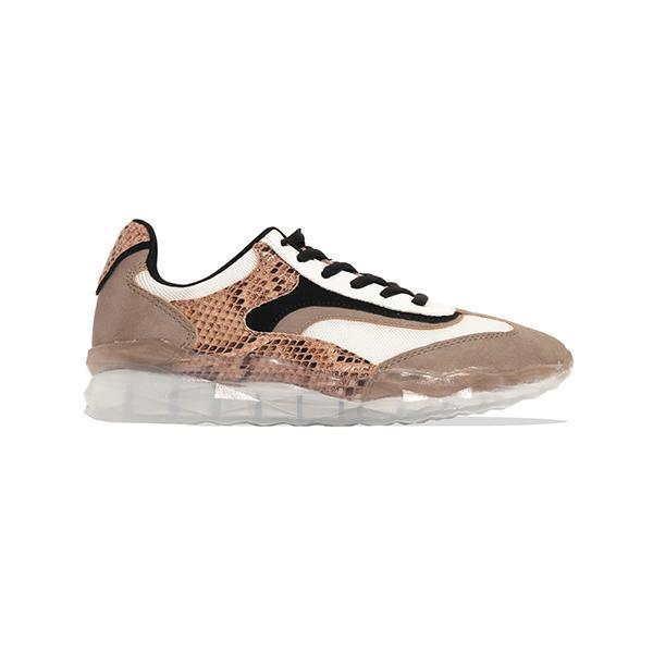 Mokoshoes Material Lace-Up Sneakers