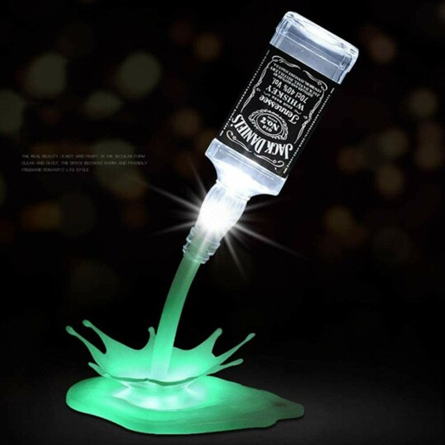 Portable touch switch USB glass bottle light--Bottle not included