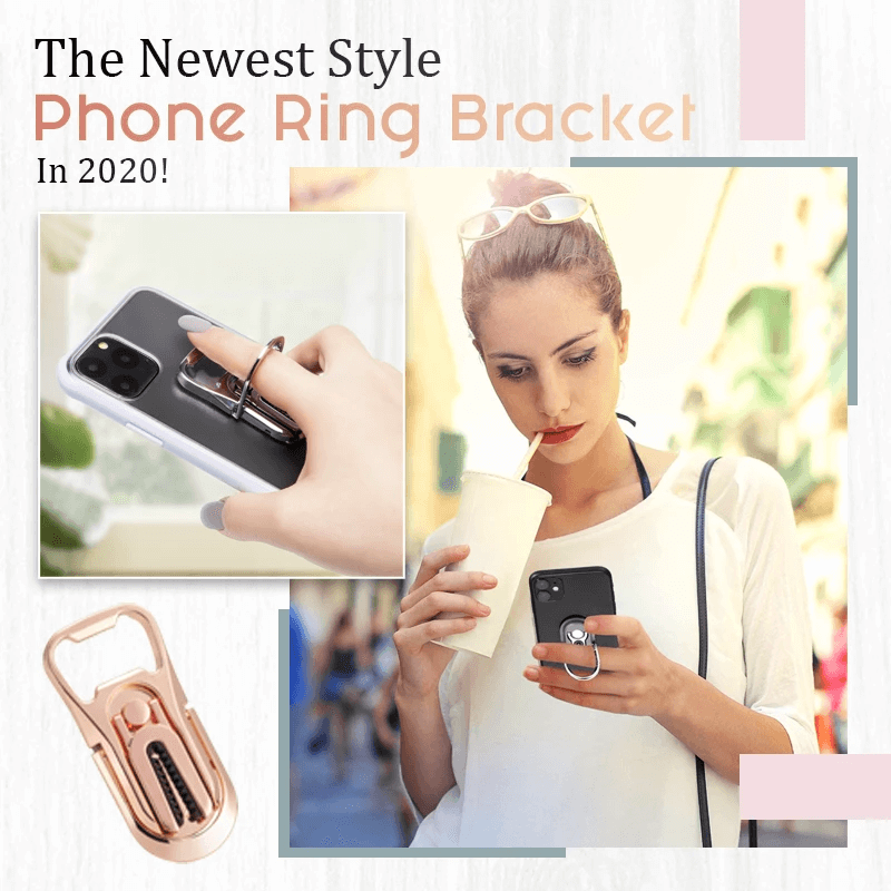 Multifunctiona Phone Ring Bracket
