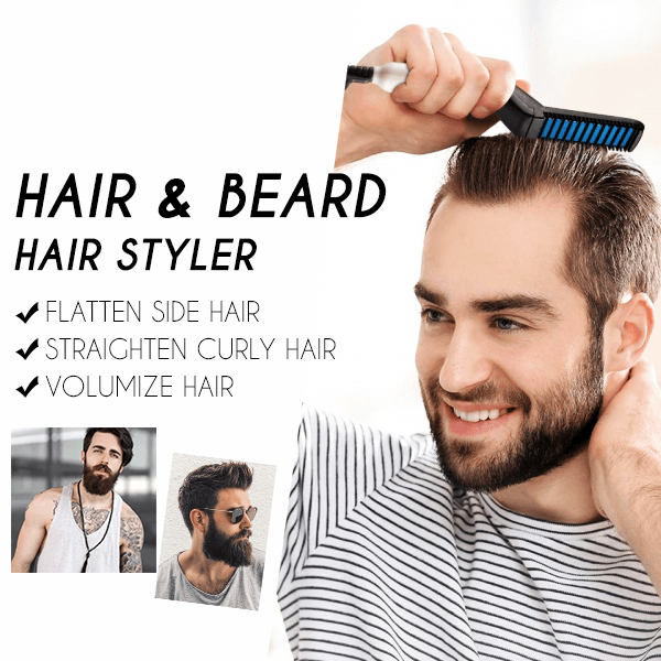 2-in-1 Hair & Beard Straightening Comb