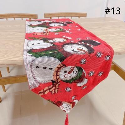 【🎄Buy 1 Get 4 Free - Welcoming christmas🎄】Christmas Embroidered Table Runner