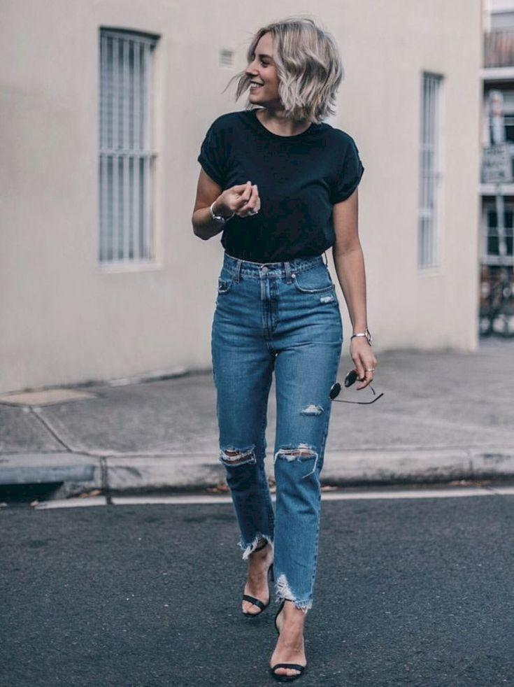 Bottoms Jeans For Women 2020 New Tunic Sweater Long Sleeve Party Dress Molly Jeans Latest Jeans Low Waist Jeans Womens Fashion Jackets