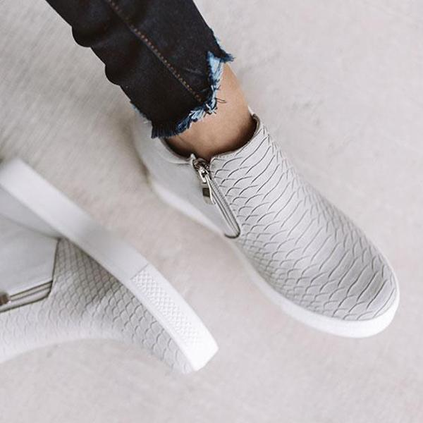 Mokoshoes 2020 Hot Sale Wedge  Sneakers (Ship in 24 Hours)