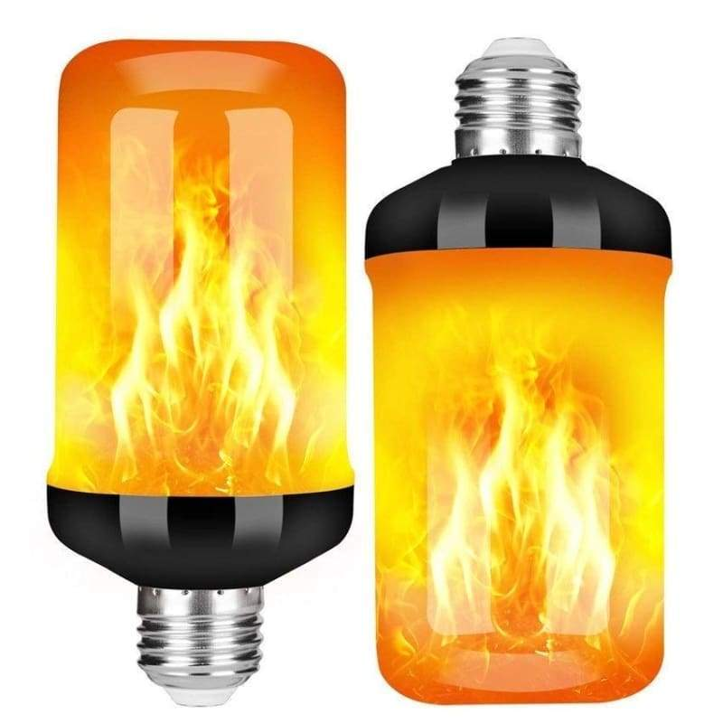 LED Flickering Flame Light Bulbs 4 Modes Fire Effect LED Light Atmosphere Festival Bar Party Decoration
