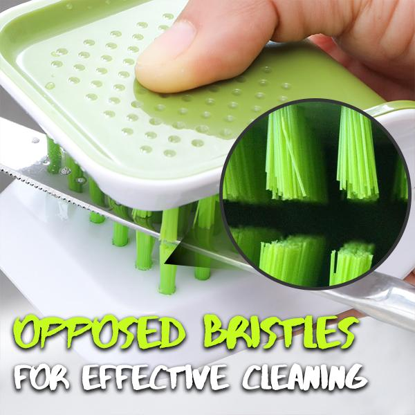 Handy Cutlery Cleaning Brush