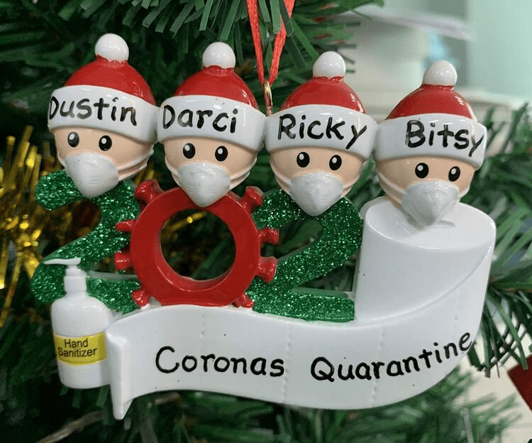 Handcrafted 2020 Christmas Ornaments