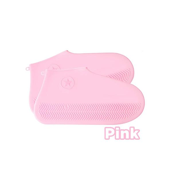 Zoeyootd Waterproof Silicone Shoe Cover (1 Pair)