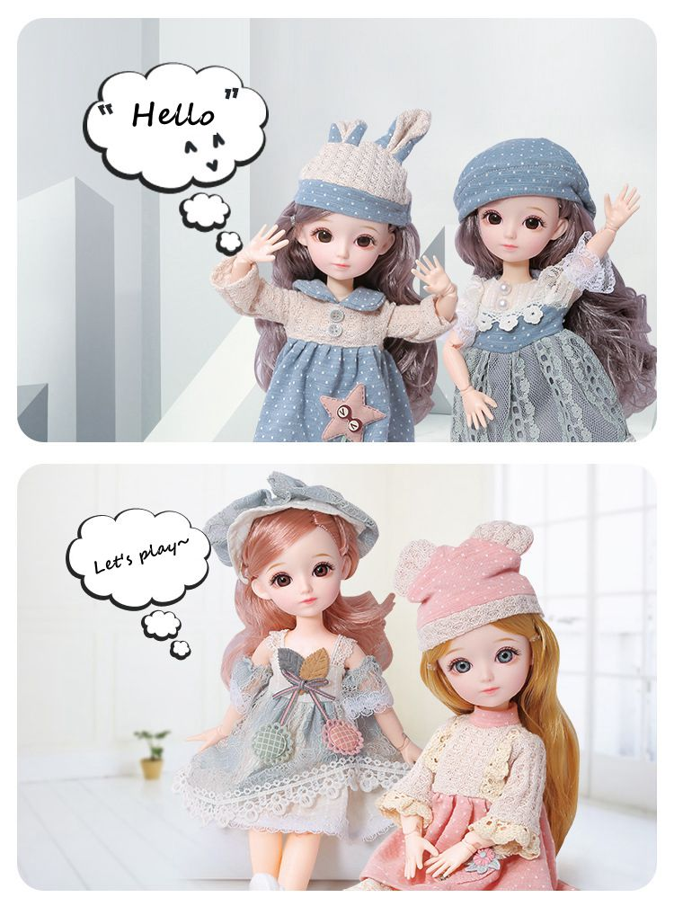 Beautiful And Cute Evelyn Doll With Princess Dress🍧—Anna
