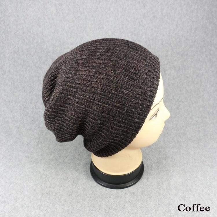 1PC Unisex Warm Winter Knited Beanies Hippop Bandana Slouchy Oversized Cap Sport Hat Knited Bonnet