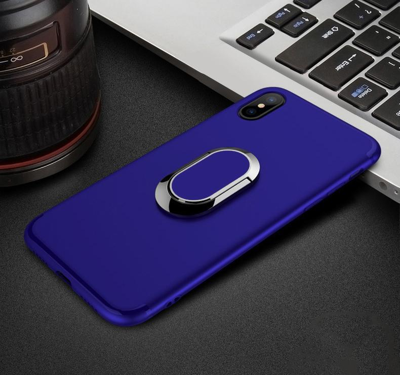 Magnetic Ring Kickstand Case