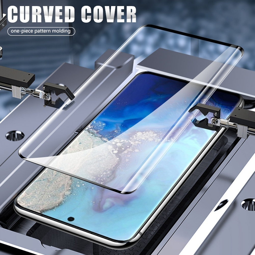 500D Full Curved Screen Protector For Samsung S20 Plus S20 Ultra Note 10 9 8 S10 S9 S8 Plus Tempered Glass