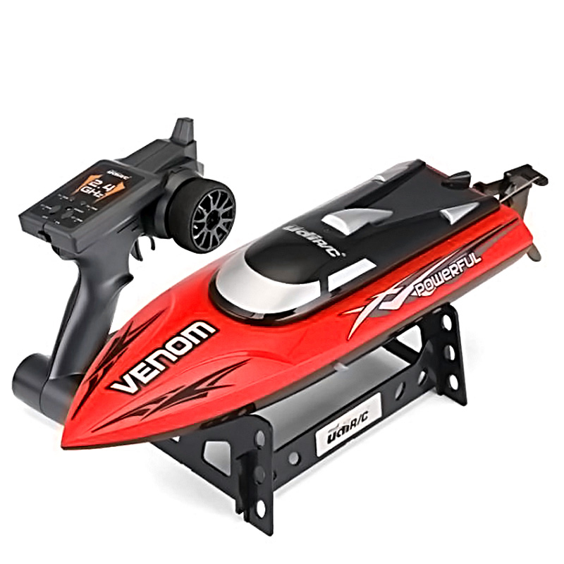 Udi R/C 001 2.4 G RC Boat 20km/H Max Speed Auto Rectifying Deviation Direction Remote Control Boat