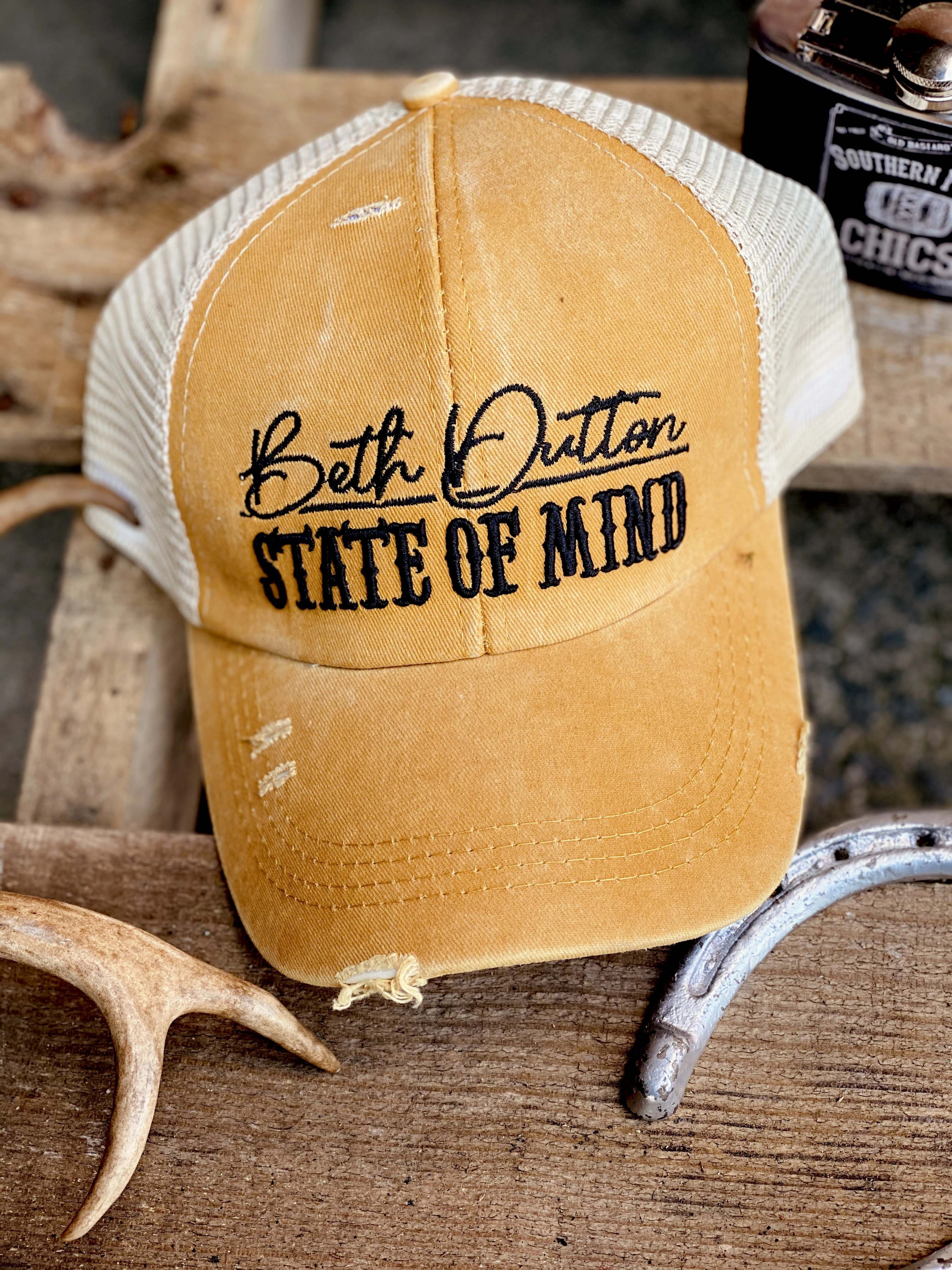 Beth Dutton State Of Mind Yellowstone Hat
