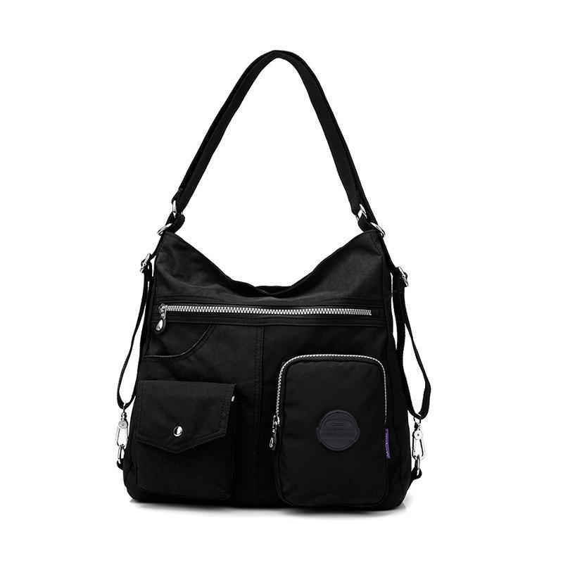 Waterproof Shoulder Bag Nylon Purse Handbag