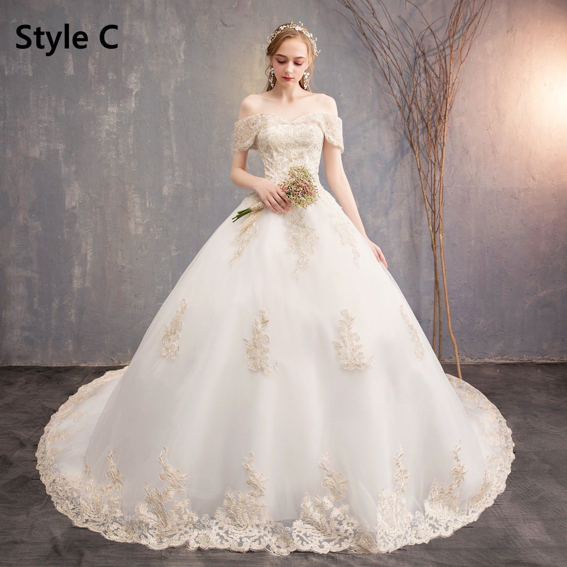 Best Wedding Dresses Lace Dresses Fancy Lace Dress Wedding Party Dresses Floral Milkmaid Dress 2020 Wedding Dresses Wedding Fashion Reception Dresses For Brides Under 100