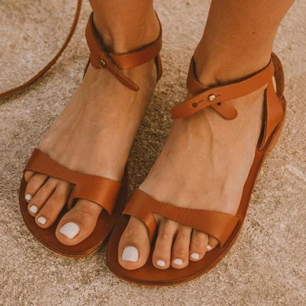 Zoeyootd Boucle Simple Sandals