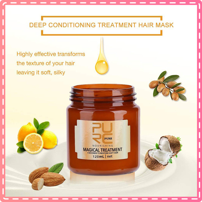 🔥Limit Discounts--Pure Magic Hair Treatment Mask【🎉Buy 3 Only $10/Pack】