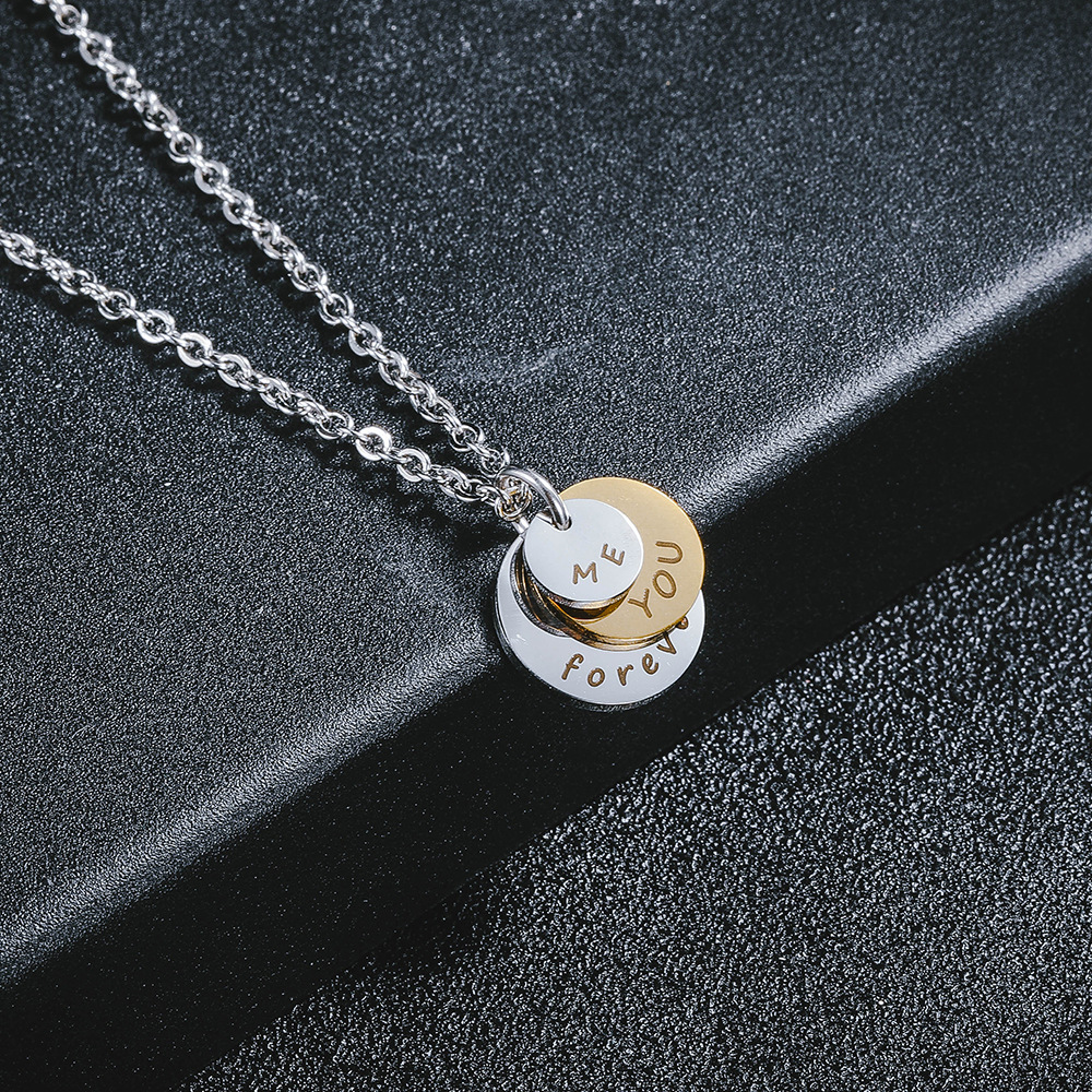 (VALENTINE'S DAY PROMOTION-SAVE 50%OFF) Me&You Forever Stainless Steel Necklace