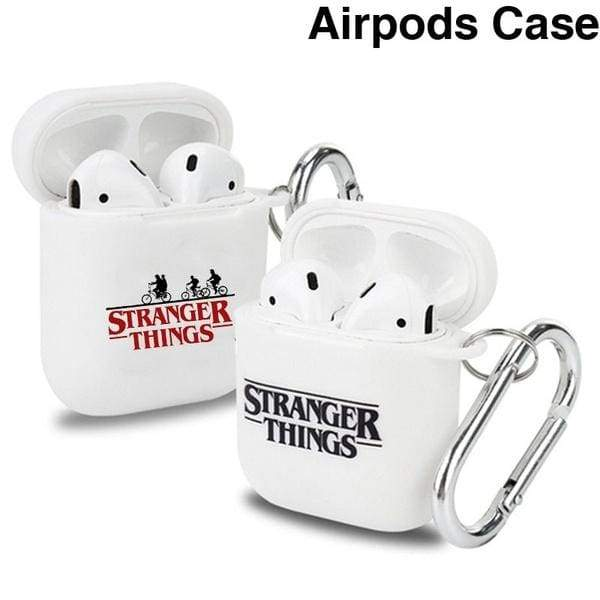 New Stranger Things Compatible Airpods Case Cover Silicone Protective Skin For Apple Airpod Case