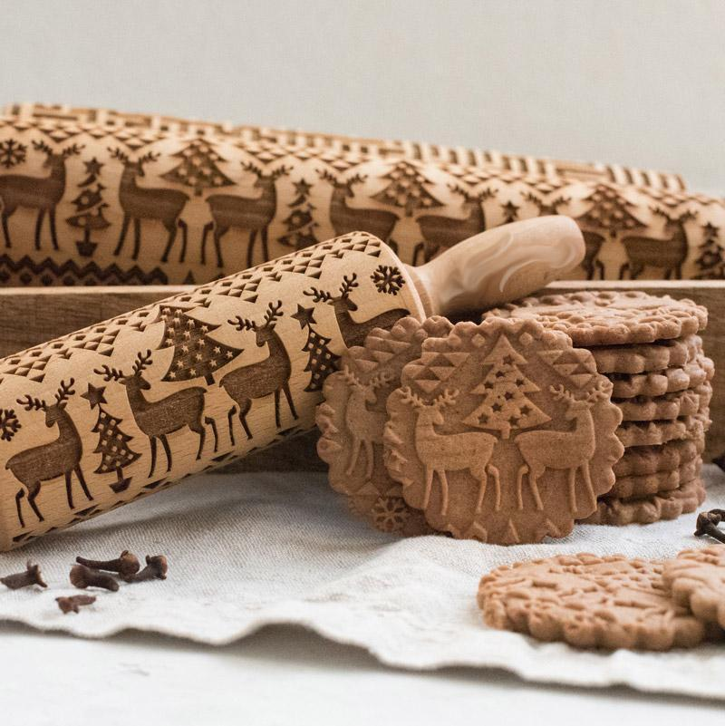 Christmas Cookie Roller ™ | The nicest patterns for the tastiest cookies