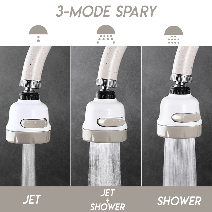 HOT SALE🔥Moveable Kitchen Tap Head