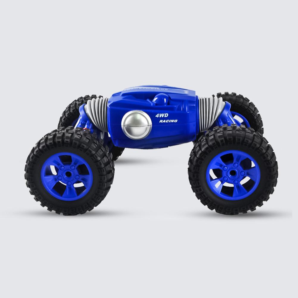 4WD 2.4GHz RC Stunt Car, 360 Degree Flips Rotating Double-Sided Race Car