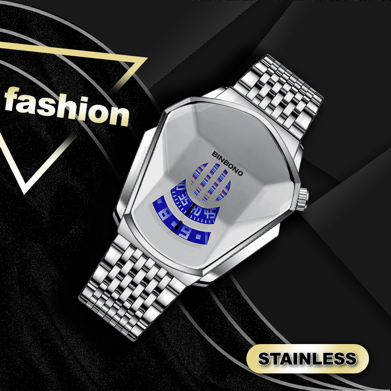 New Year Sale -Diamond Style Quartz Watch For Men & Women(Buy Two Free Shipping)