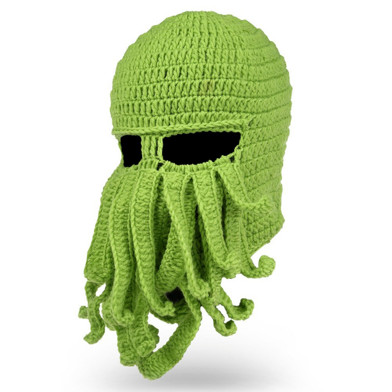 Winter Warm Octopus Hat Windproof Funny