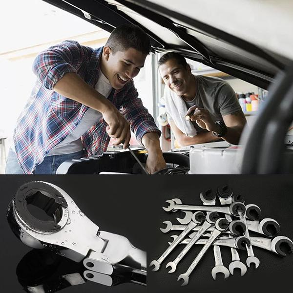 【50% OFF TODAY】 Tubing Ratchet Wrench