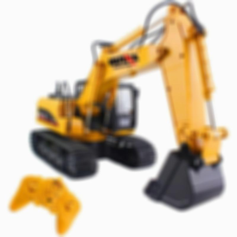 HuiNa RC Construction Vehicles Excavator Dump Truck Crane RC Cars