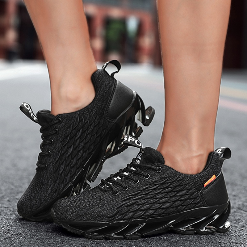 Women's Breathable Casual Shoes Kint Running Shoes Blade Sneakers Lightweight Sport Shoes Trainers for Women