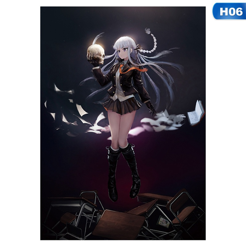42×29.7Cm Janpanese Anime Danganronpa Wall Poster Scroll Paiting For Home Decoration Anime Accessories Gift For Anime Lover