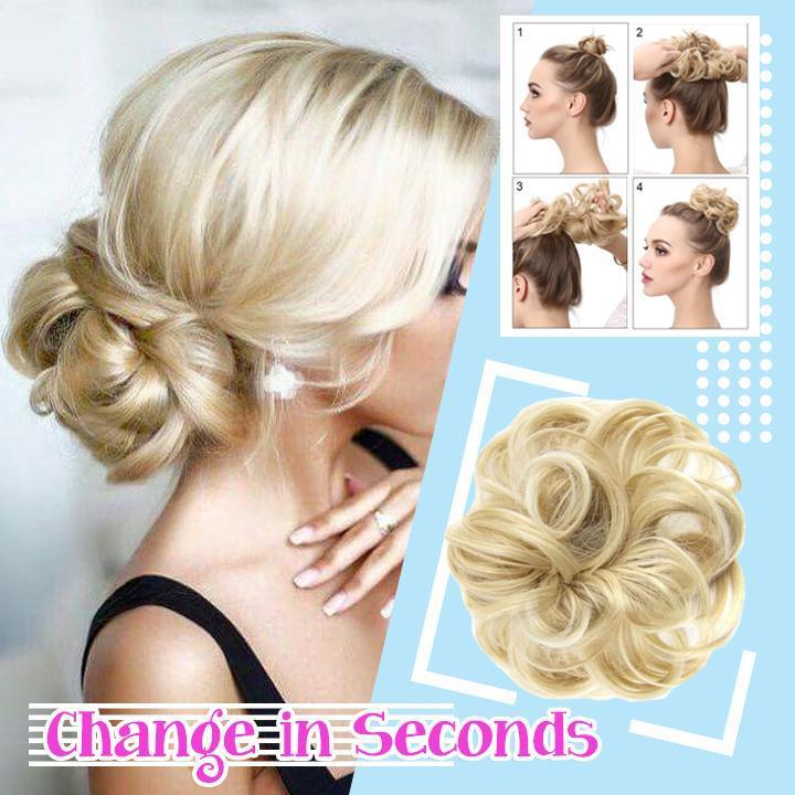 🎁50% OFF💗Donuts Messy Bun Hairpiece