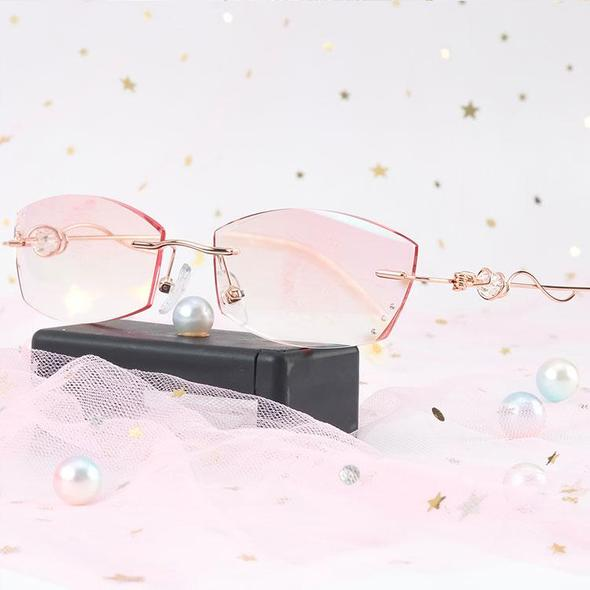 Buy 2 Free Shipping-2020 fashionable ladies pink reading glasses