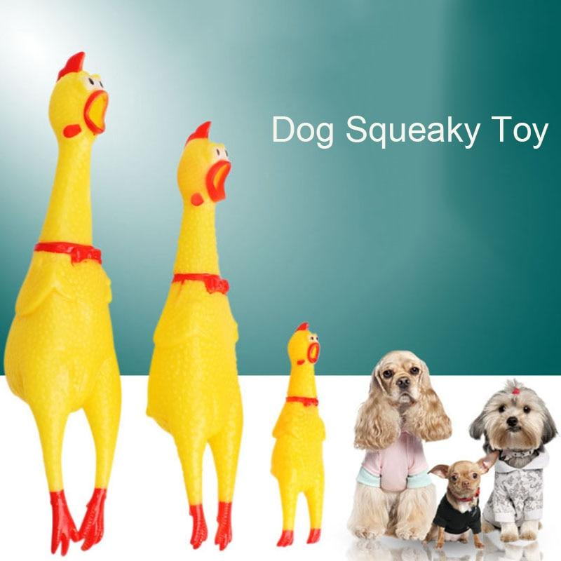 Chicken Squeaky Dog Toy