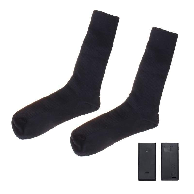 3V Thermal Cotton Heated Socks Men Women Battery Case Battery Operated Winter Foot Warmer Electric Socks Warming Socks WARMER Winter