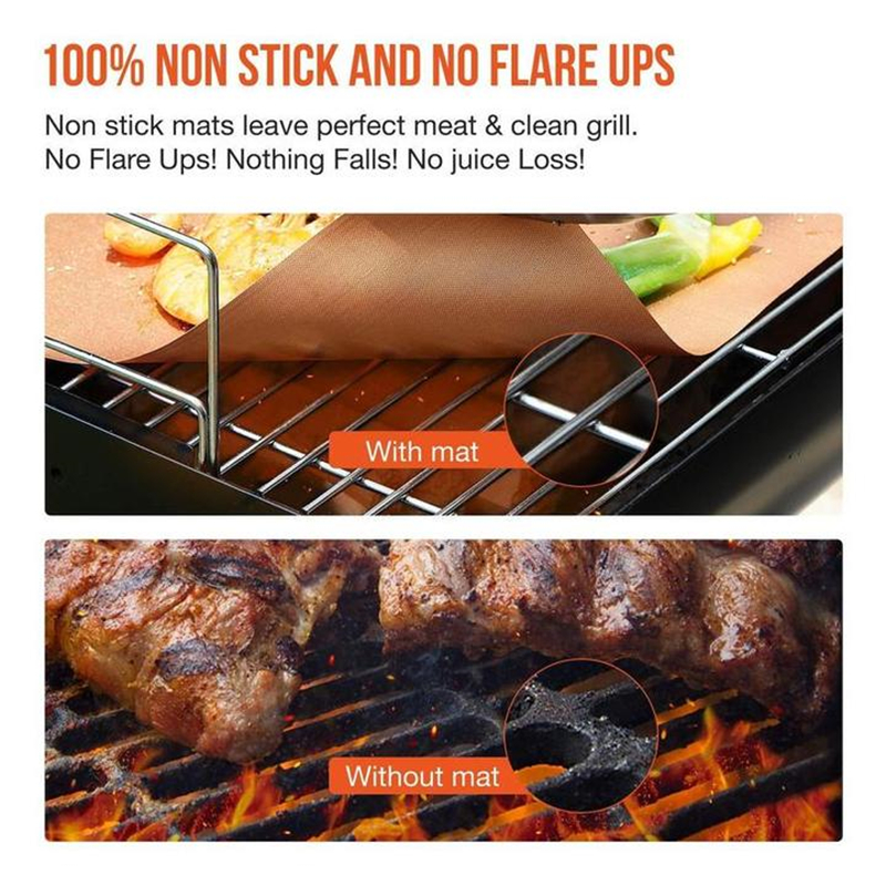 Non-Stick BBQ Baking Mats-Buy 3 Get Free Shipping