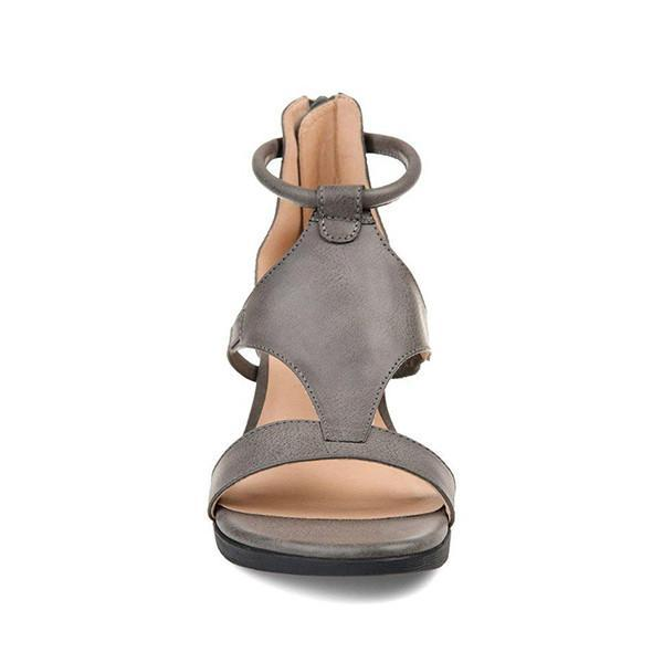 Mokoshoes Women Casual Daily Wedge Sandals