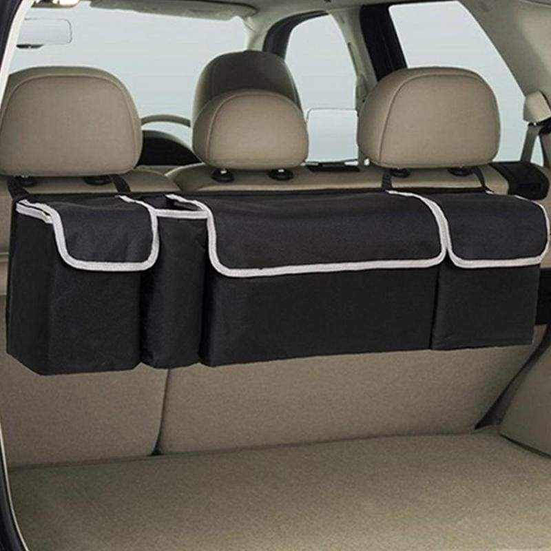 High Capacity Multi-use Oxford Cloth Car Trunk Organizer Backseat Storage Bag Car Seat Back Organizers Interior Accessories