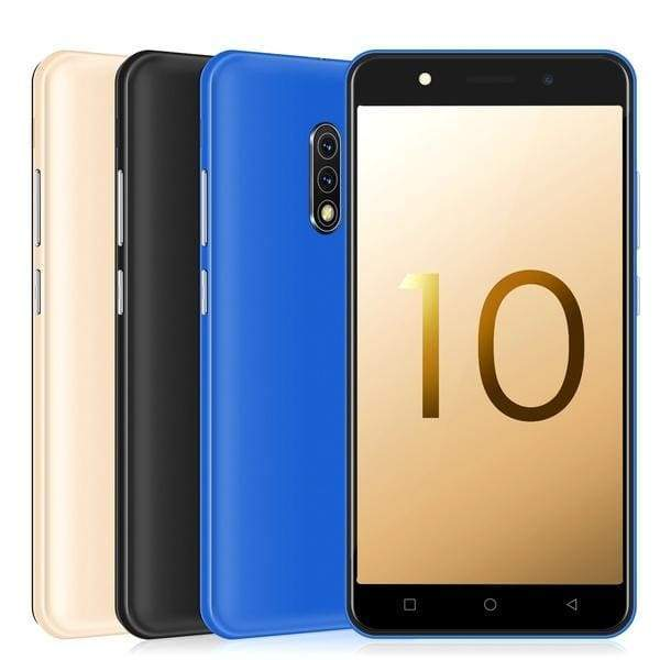 Mate10 Cheap Android 8.1 Smartphone 3G Quad Core 1GB+4GB Mobile Phone 5.0 Inch Dual Sim Bluetooth Wifi Camera Android Phones