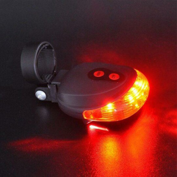 Flash UP Rear Light with Laser