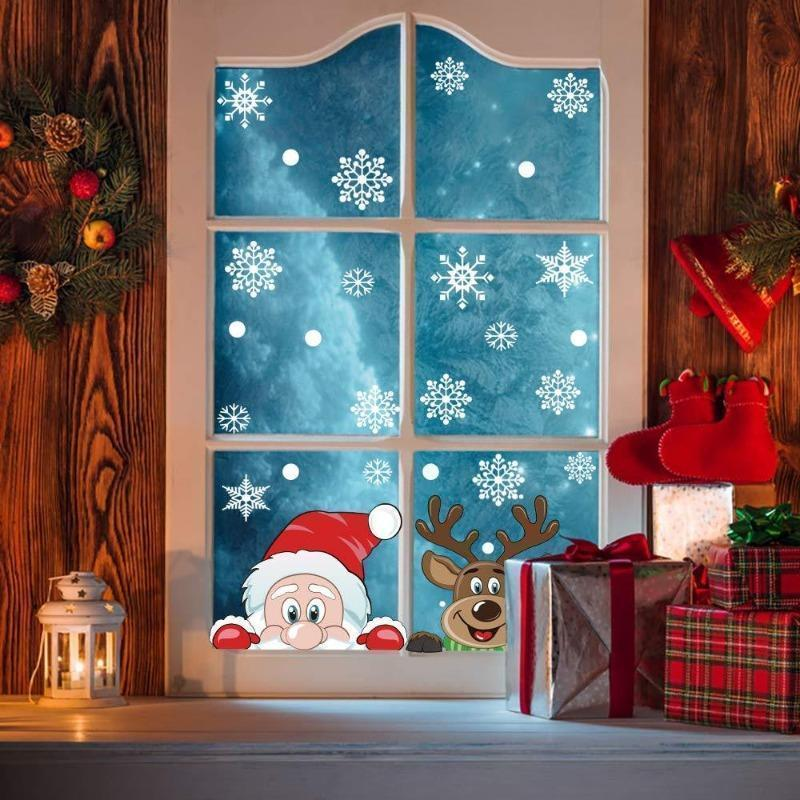 Buy one get one free 🎄Only $19.99🎅Christmas window sticker❄